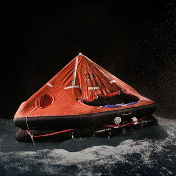 RFD – Liferaft Inflatable for 25 men