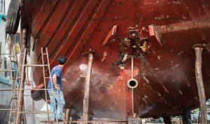 Pintura Marina y Limpieza con Agua a Alta Presión en Panamá