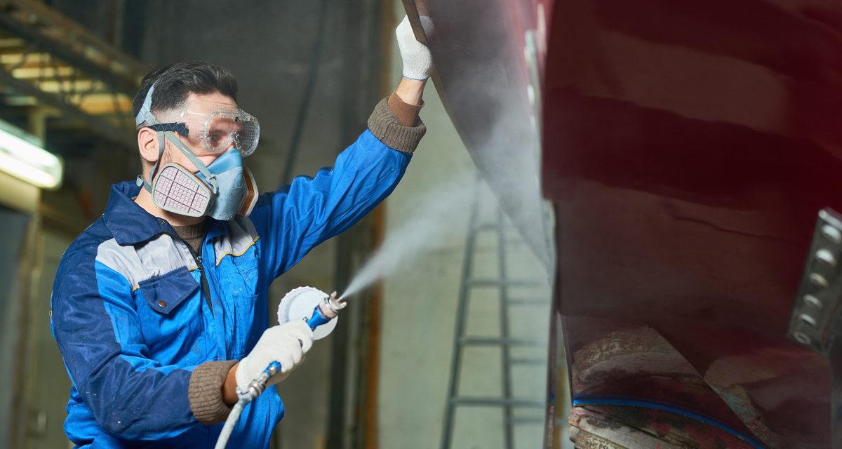 Servicios de pintura de barco Panama
